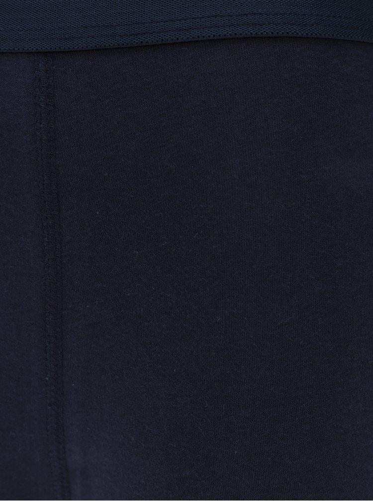 Sada tří boxerek v modré a vínové barvě M&Co