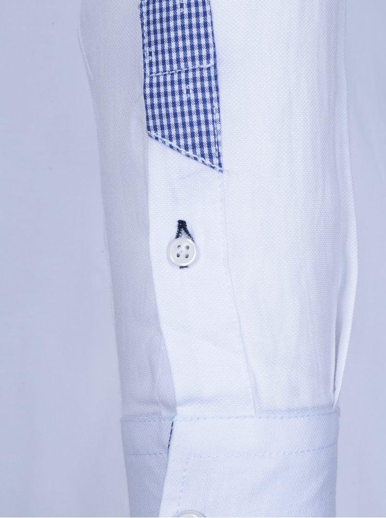 Cămășă albă casual pentru bărbați - Jimmy Sanders
