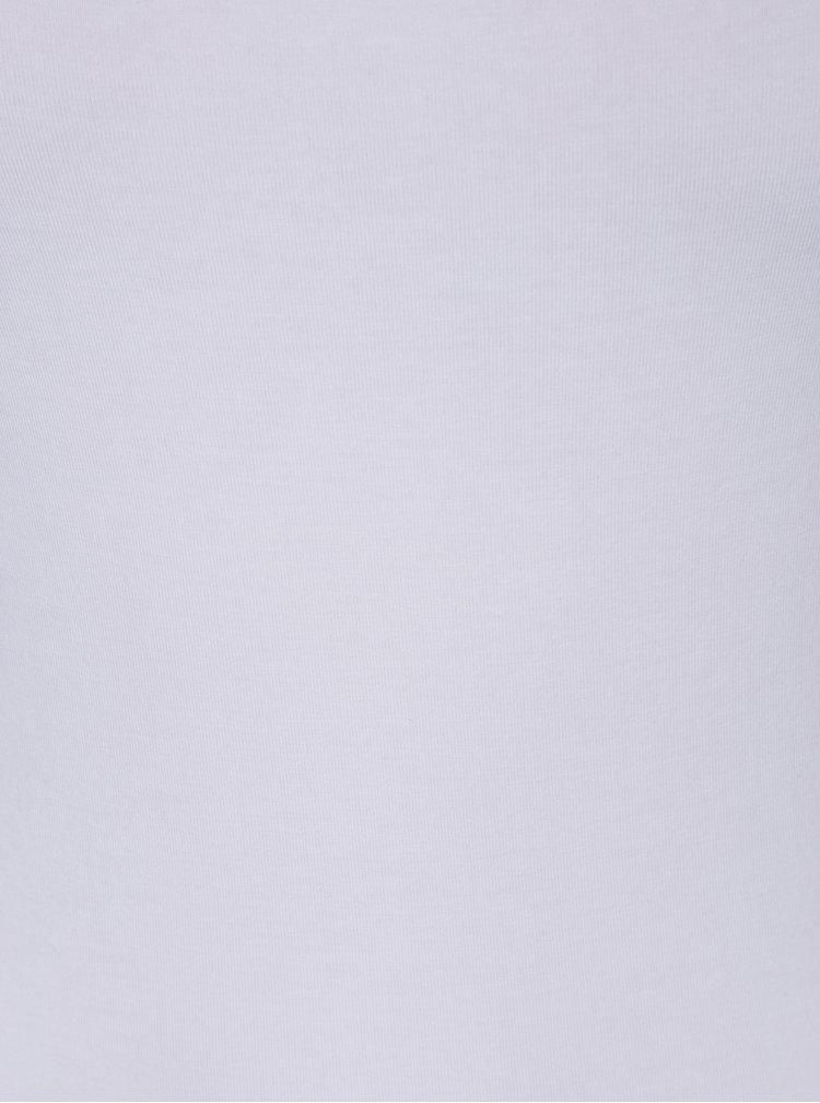 Maiou alb cu bretele ajustabile - M&Co