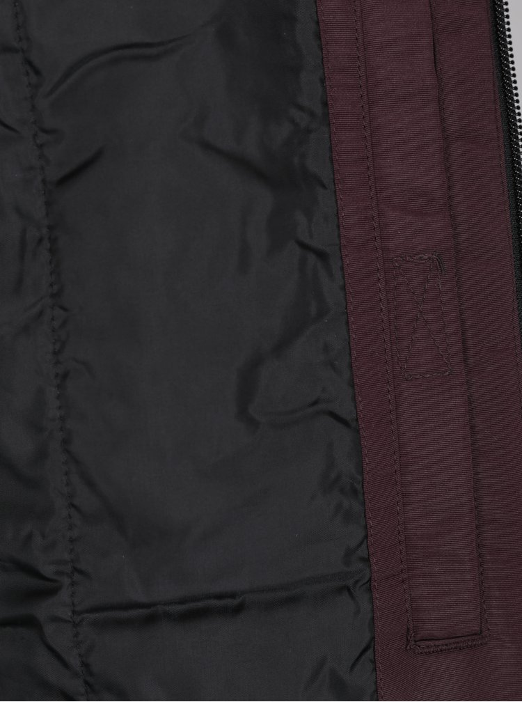 Vínová bunda s kapucí Jack & Jones Cool