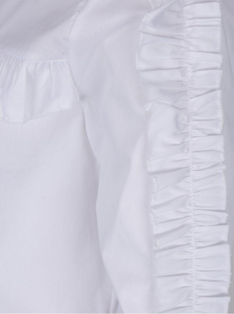 Bílá halenka s dlouhým rukávem Haily´s Sarina