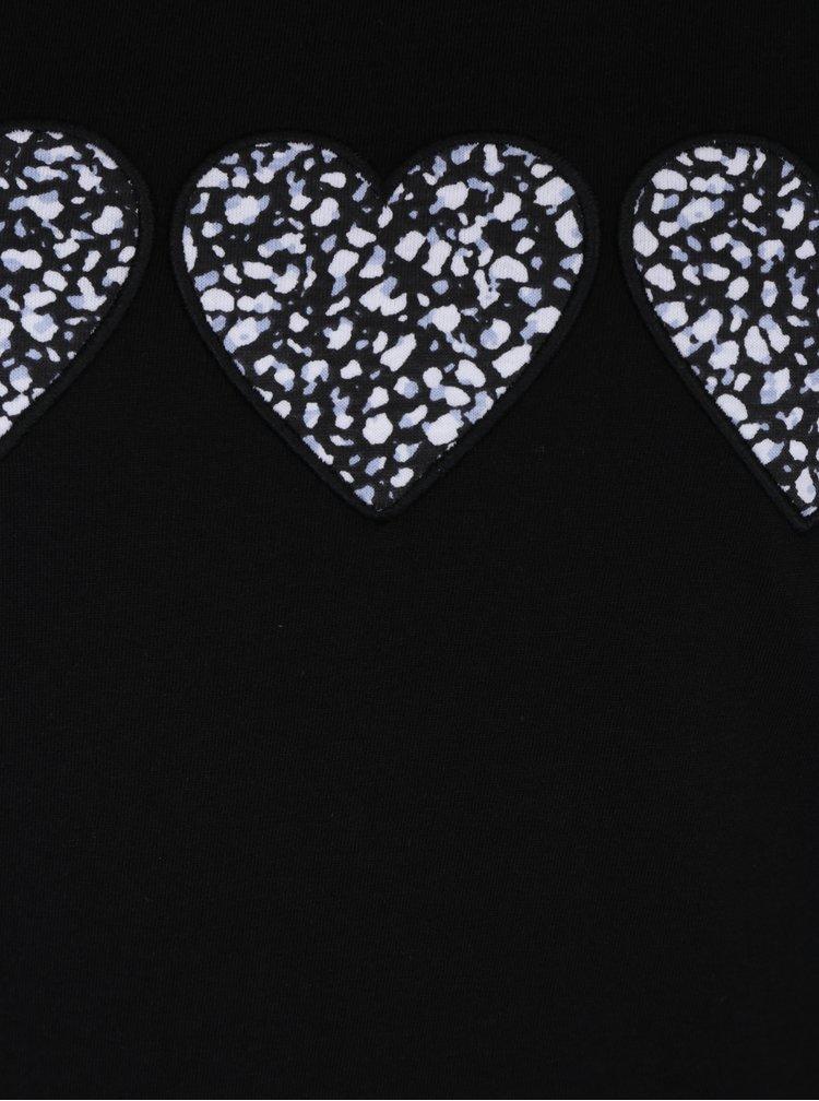 Modro-černé dámské vzorované pyžamo M&Co