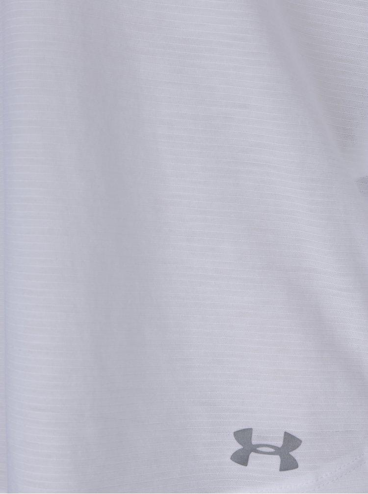 Bílé dámské funkční tričko s krátkým rukávem Under Armour