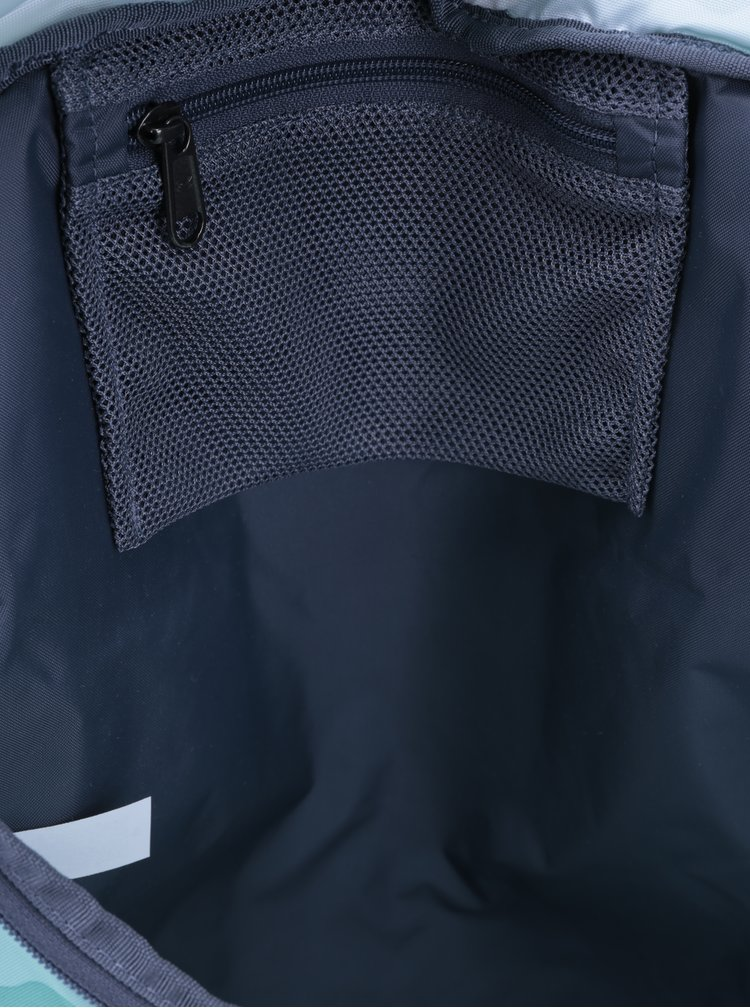 Rucsac gri & turcoaz cu print pentru femei  - Under Armour