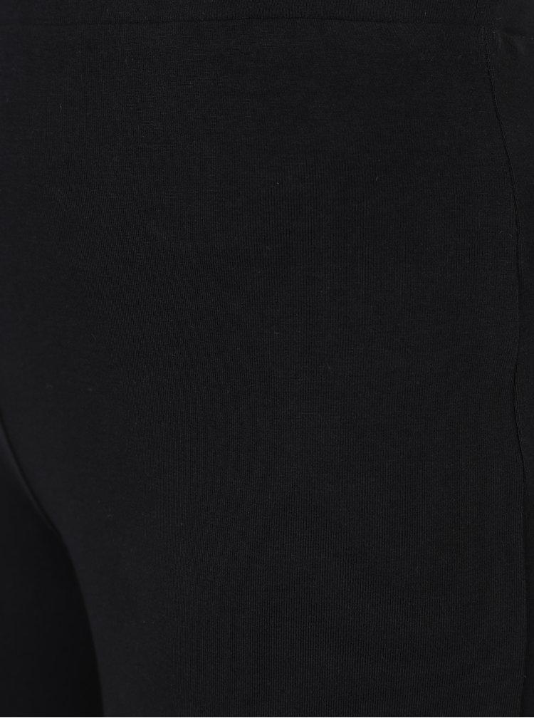 Colanți negri cu talie elastică pentru femei -  M&Co