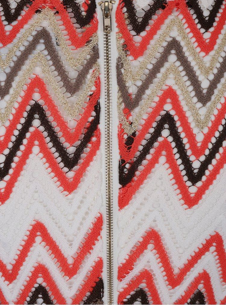Rochie tricotata cu model geometric Mela London