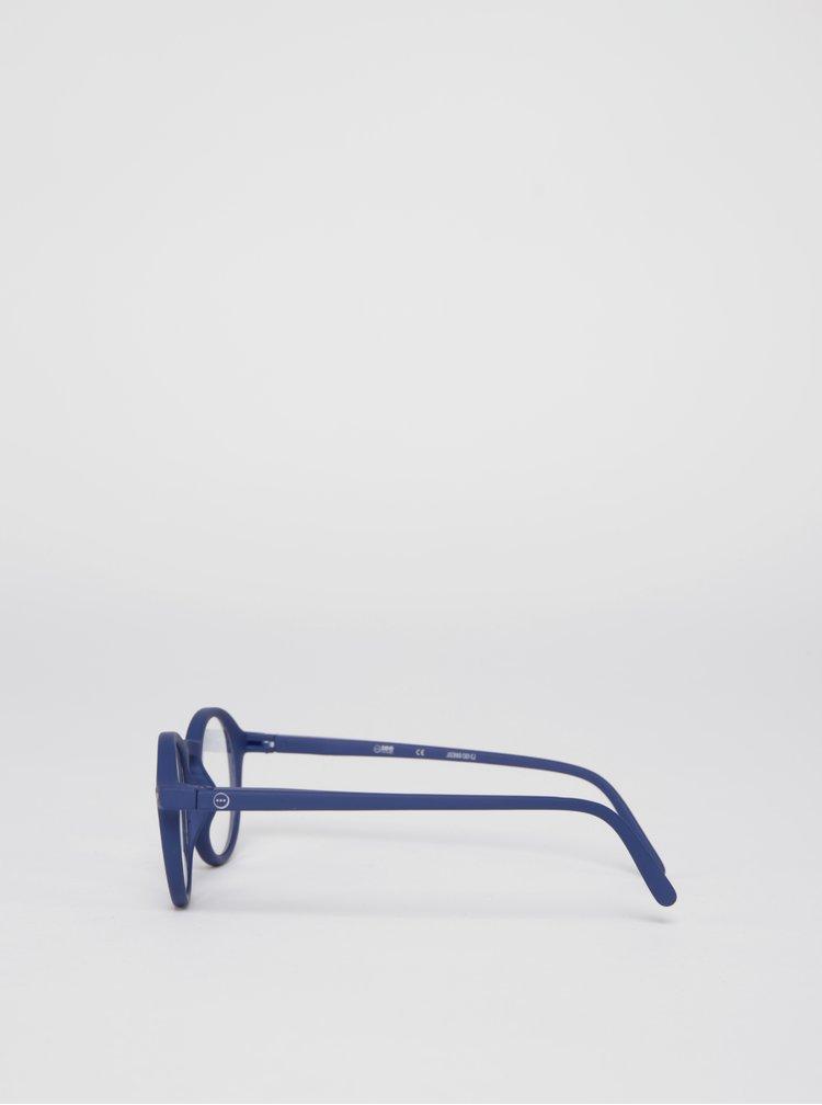 Tmavě modré dětské ochranné brýle k PC IZIPIZI  #D