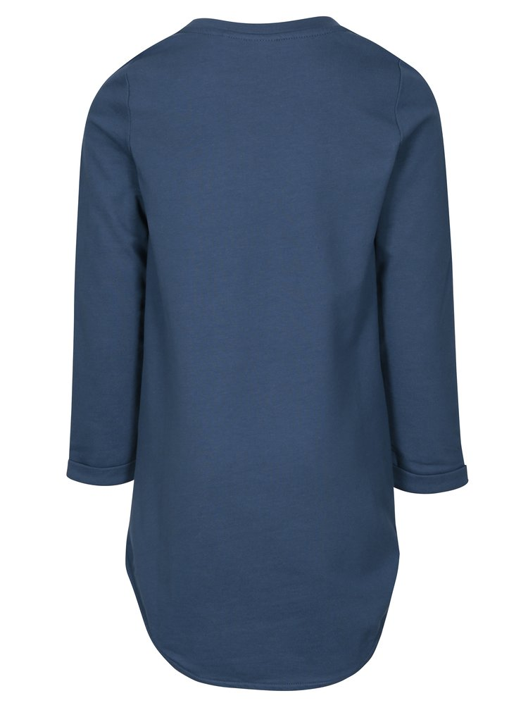 Modré holčičí mikinové šaty name it Kalullu