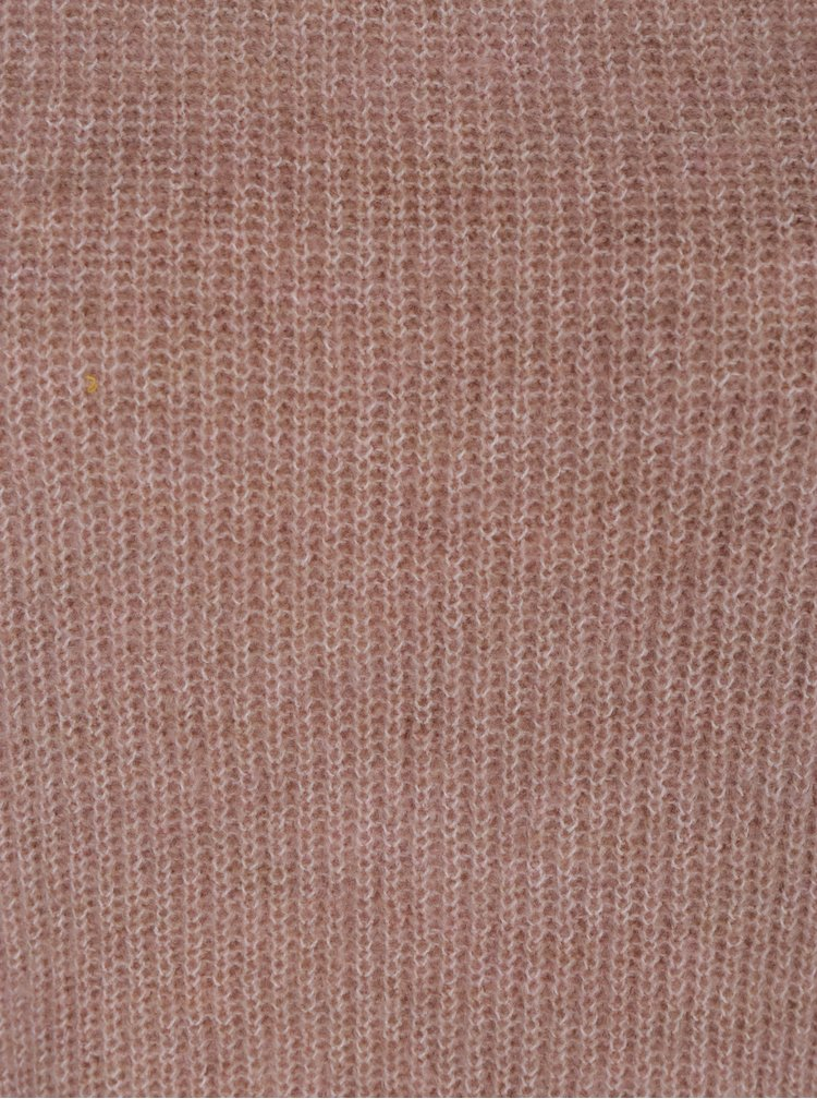 Růžový svetr VILA Malango
