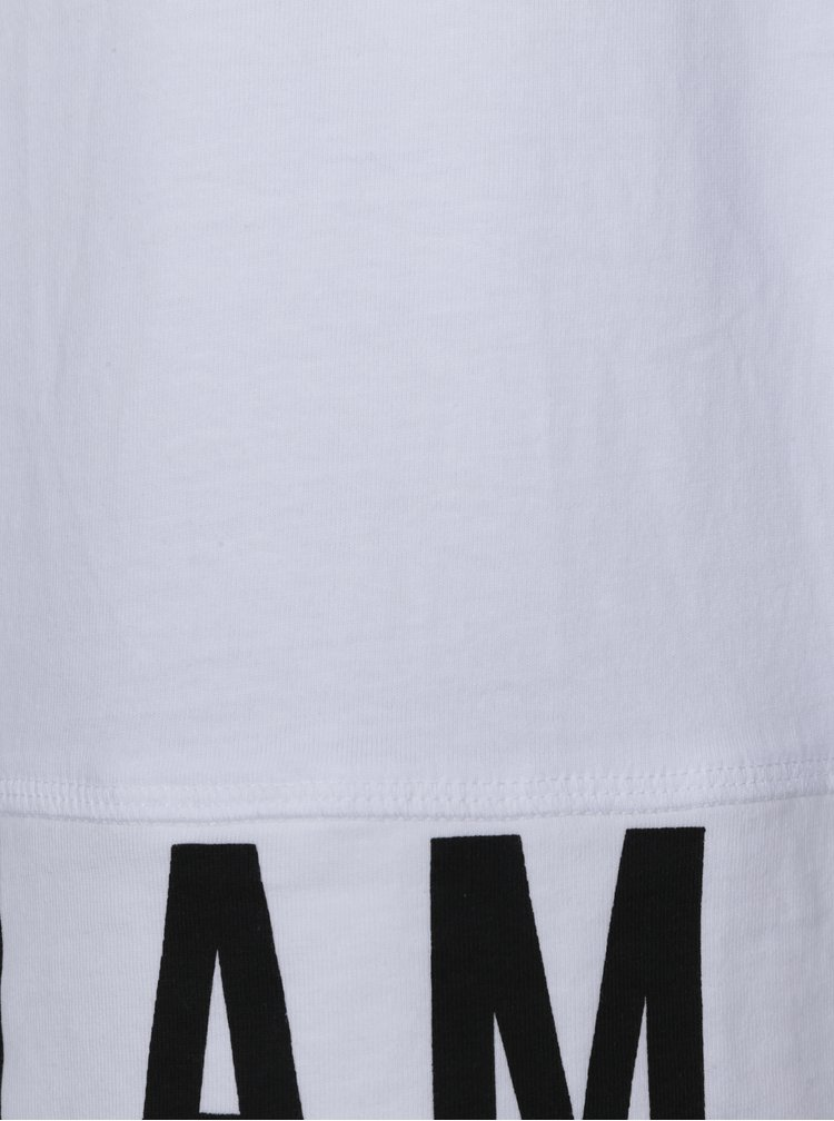 Biele chlapčenské tričko s potlačou name it Ketil