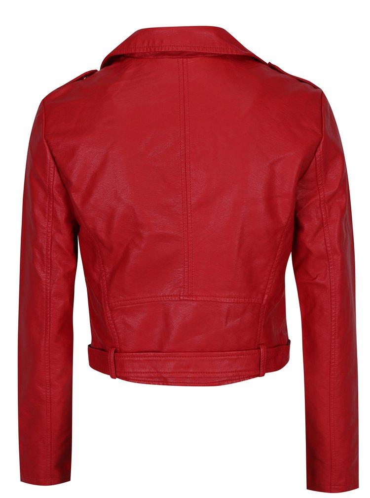 Jachetă biker roșie - TALLY WEiJl