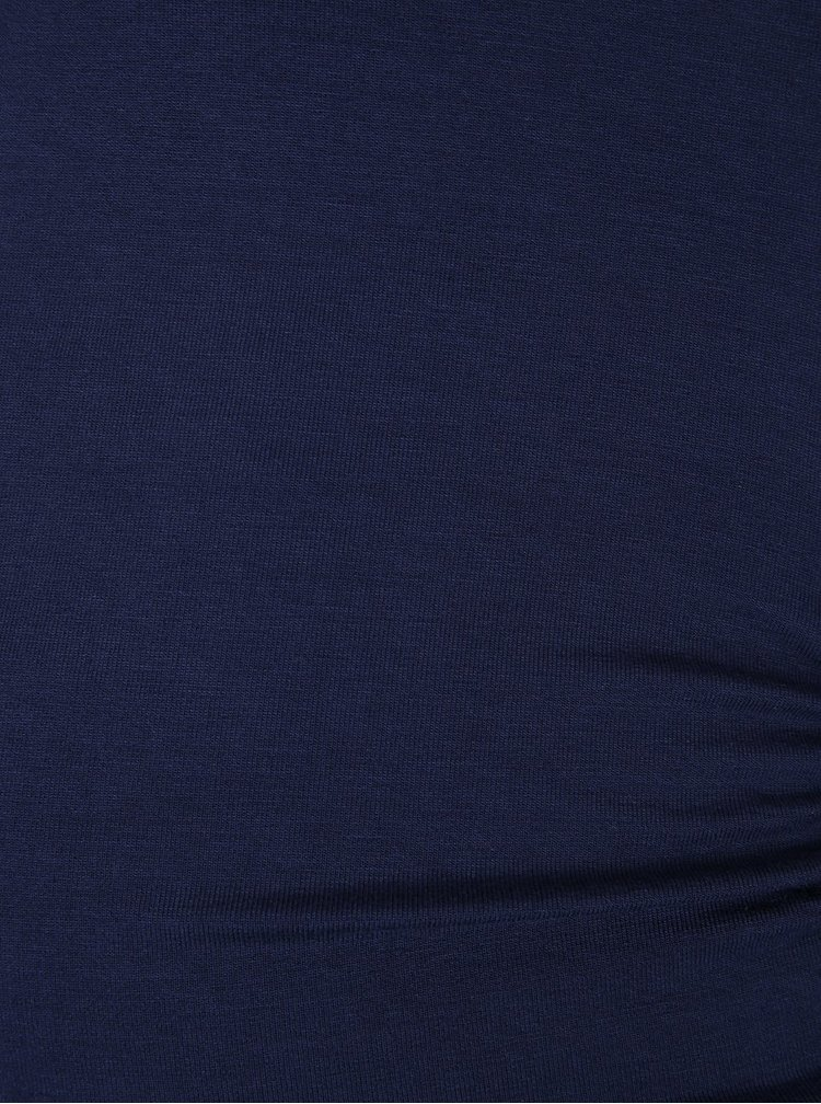 Set doua tricouri mov si gri melanj  Dorothy Perkins Maternity