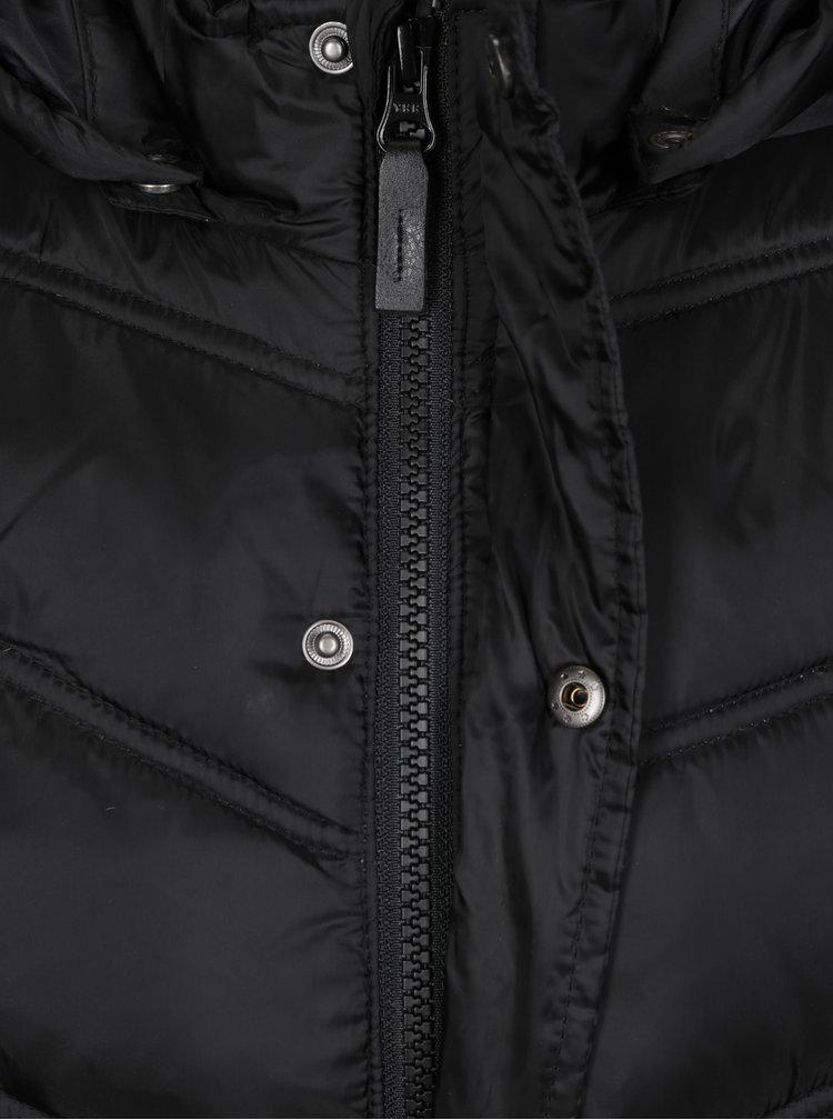 Černá klučičí prošívaná péřová bunda name it Mohil