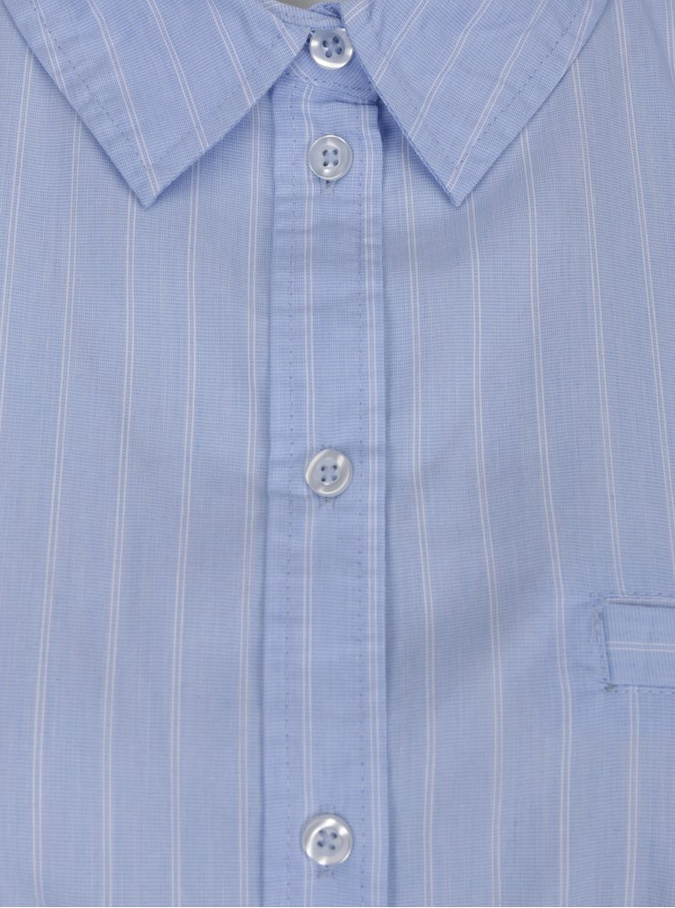 Modrá pruhovaná košile Jacqueline de Yong Stella