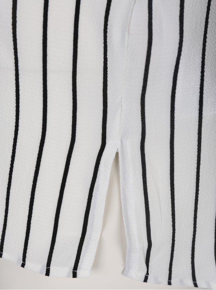 Krémová pruhovaná halenka Jacqueline de Yong Arlo