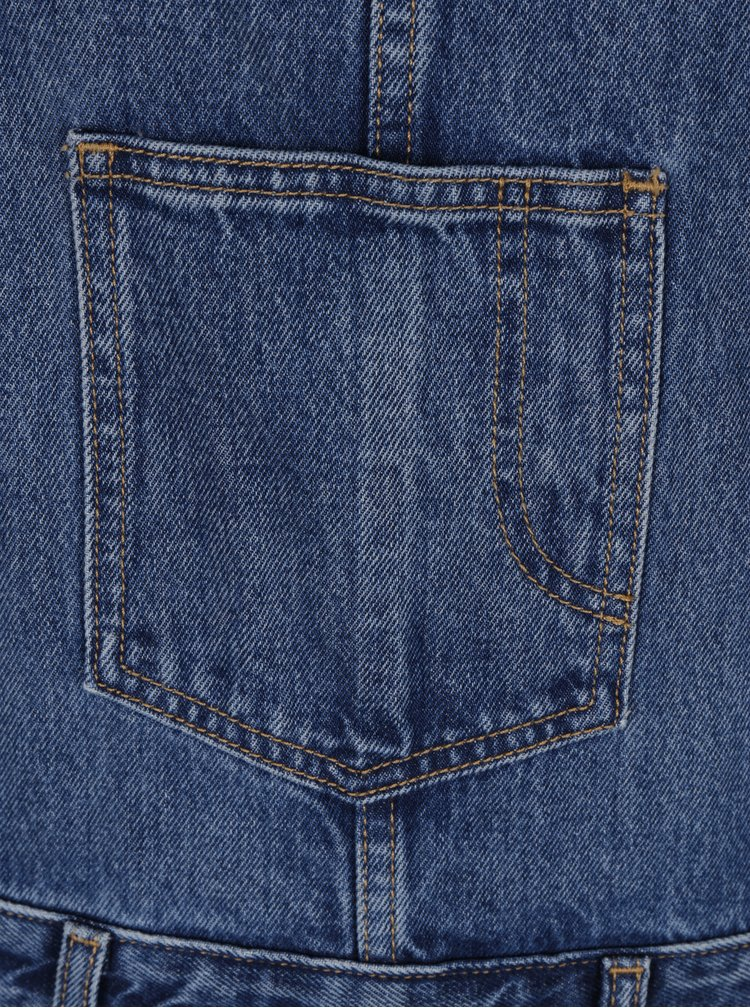 Salopeta albastra scurta din denim Levi's® Dylan´s Dog