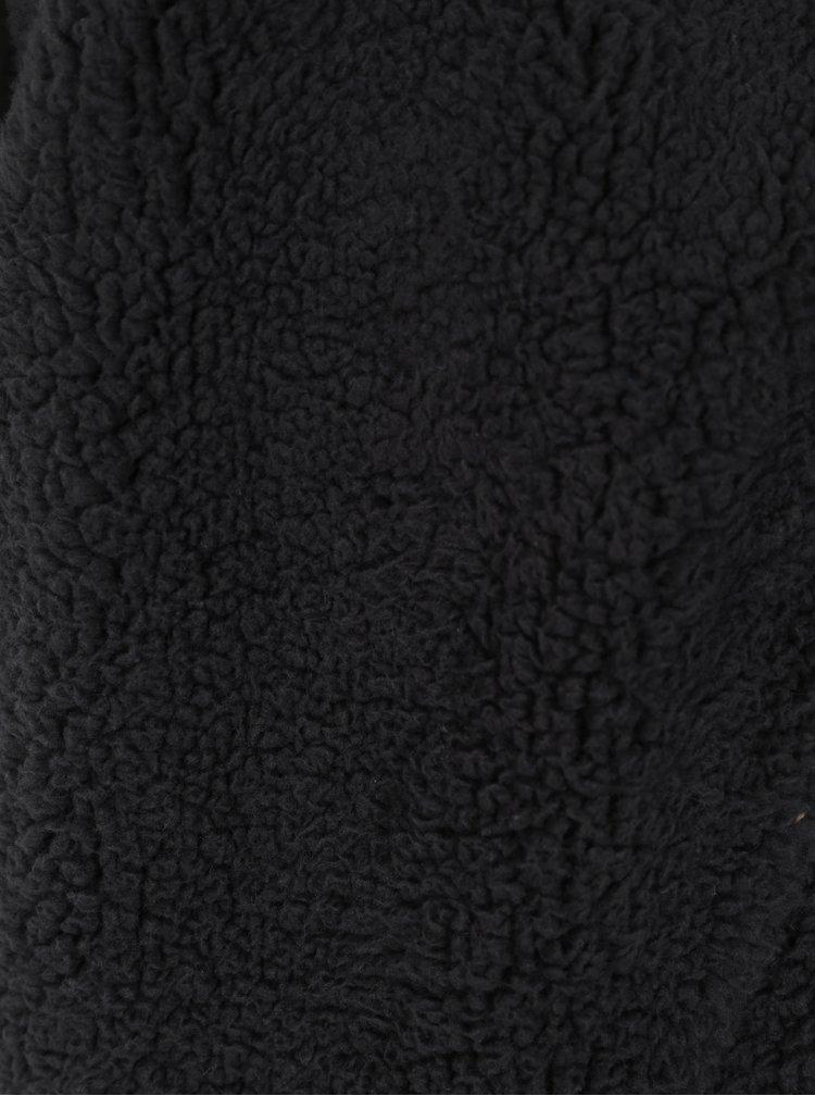 Modro-krémová pruhovaná klučičí mikina na zip Tom Joule Guthrie