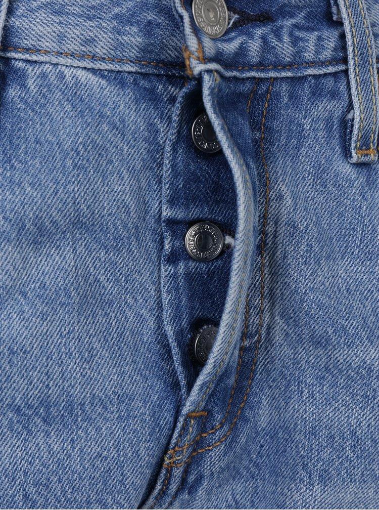 Blugi albastru deschis cu efect de uzura Levi's® Culture Shock