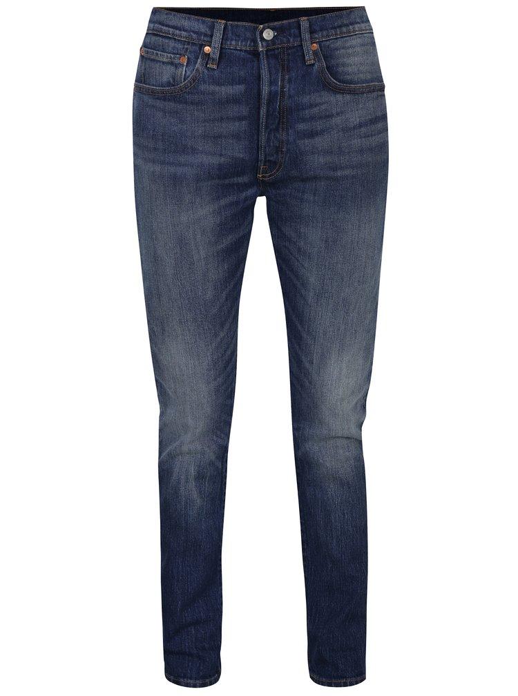 Tmavě modré dámské skinny džíny s vysokým pasem Levi's® Supercharger