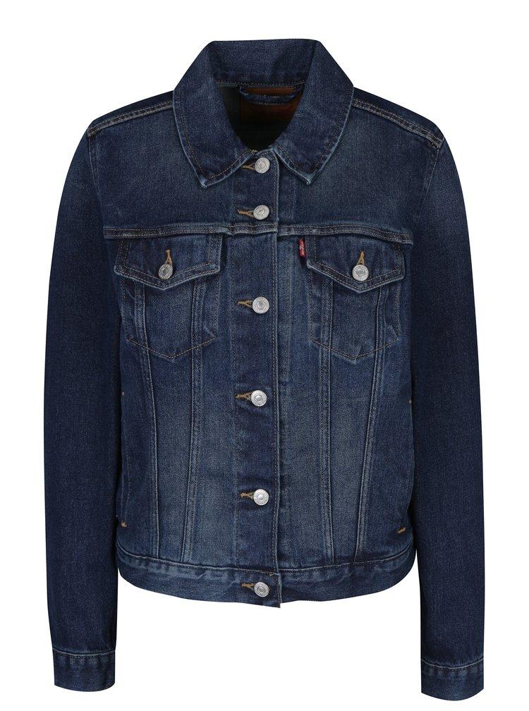 Tmavě modrá dámská džínová bunda Levi's® Lust for Life