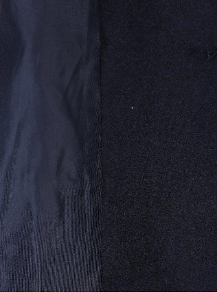 Tmavě modrý krátký kabát Noisy May Minna
