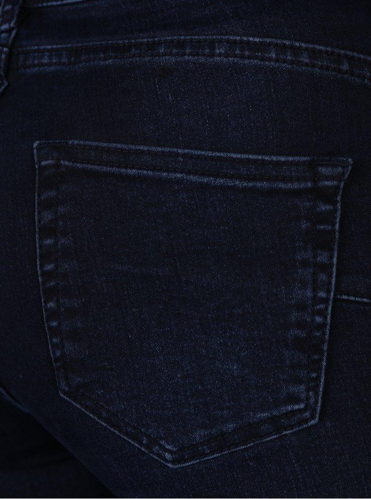 Tmavě modré slim fit džíny Yest