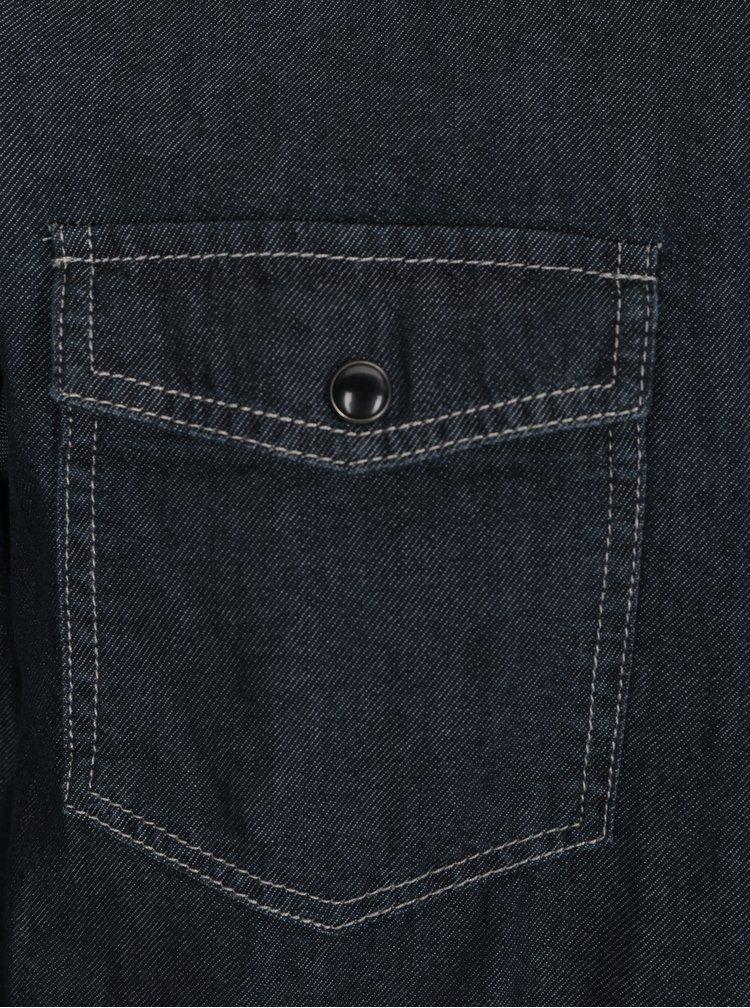 Tmavě modrá džínová košile ONLY & SONS Taylor