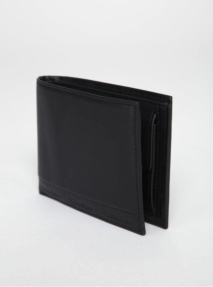 Černá pánská kožená peněženka Calvin Klein Jeans Arthur
