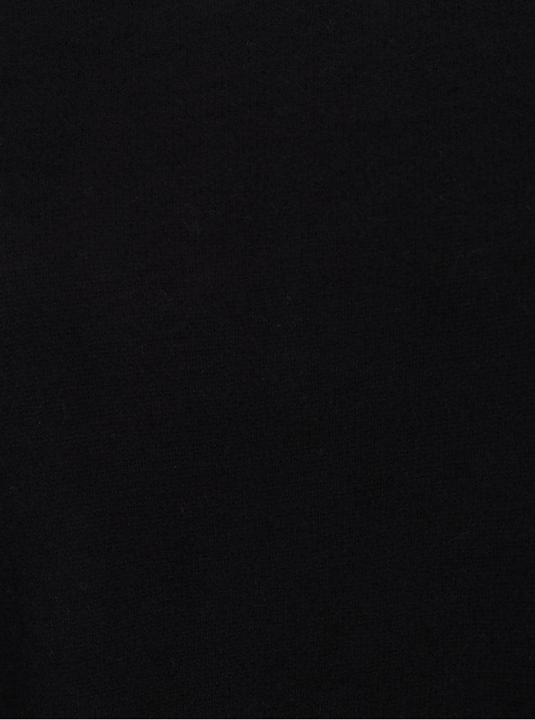 Černý svetr s dlouhým rukávem ONLY Kleo