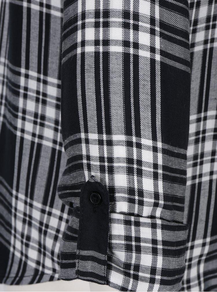 Bílo-černá kostkovaná košile ONLY Sally Josefine