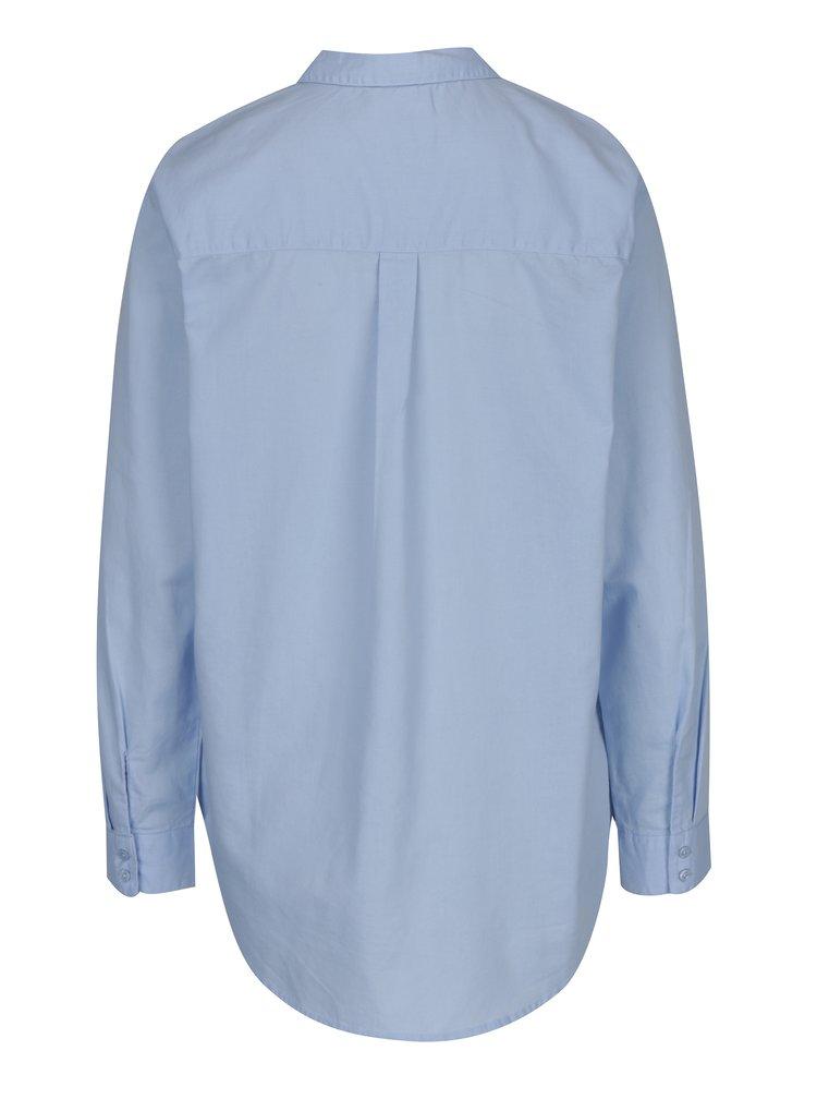 Světle modrá volná košile ONLY Laurette