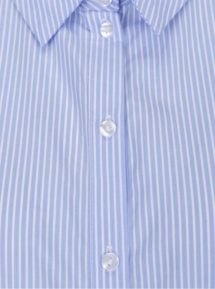 Bílo-modrá pruhovaná formální košile ONLY Daza