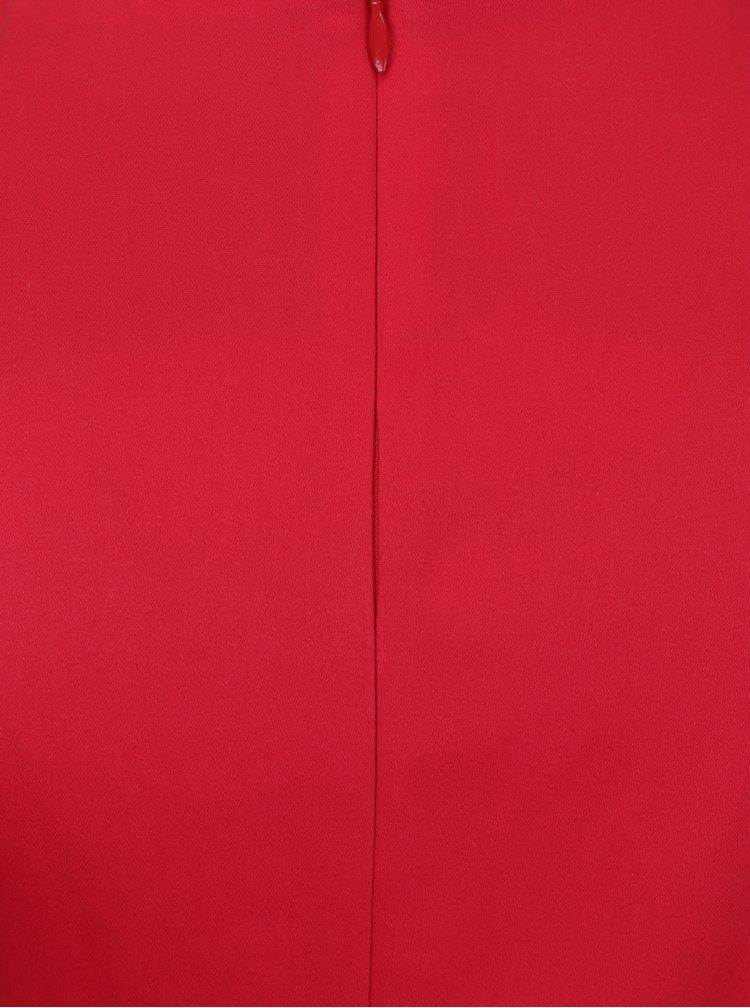 Červené šaty s tylovým detailem Dolly & Dotty Elizabeth