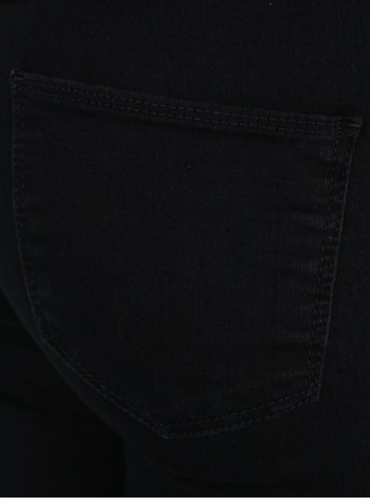 Černé straight džíny Dorothy Perkins