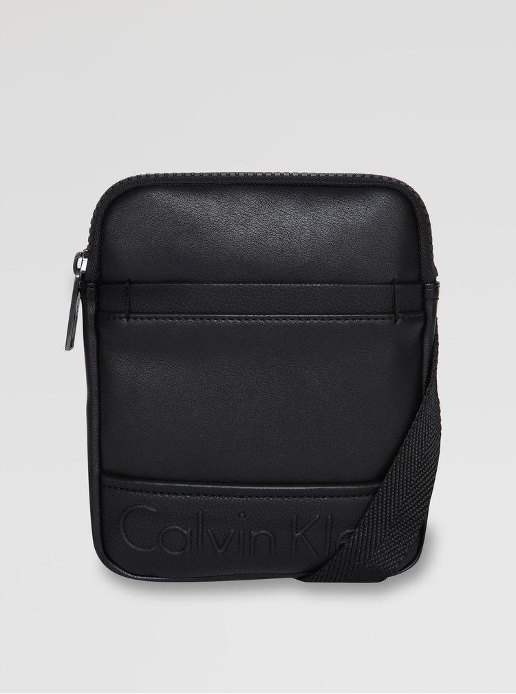 Černá crossbody taška Calvin Klein Jeans Bennet