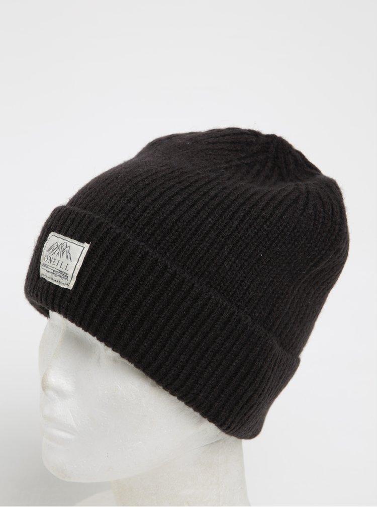 Černá pánská čepice s příměsí vlny O'Neill
