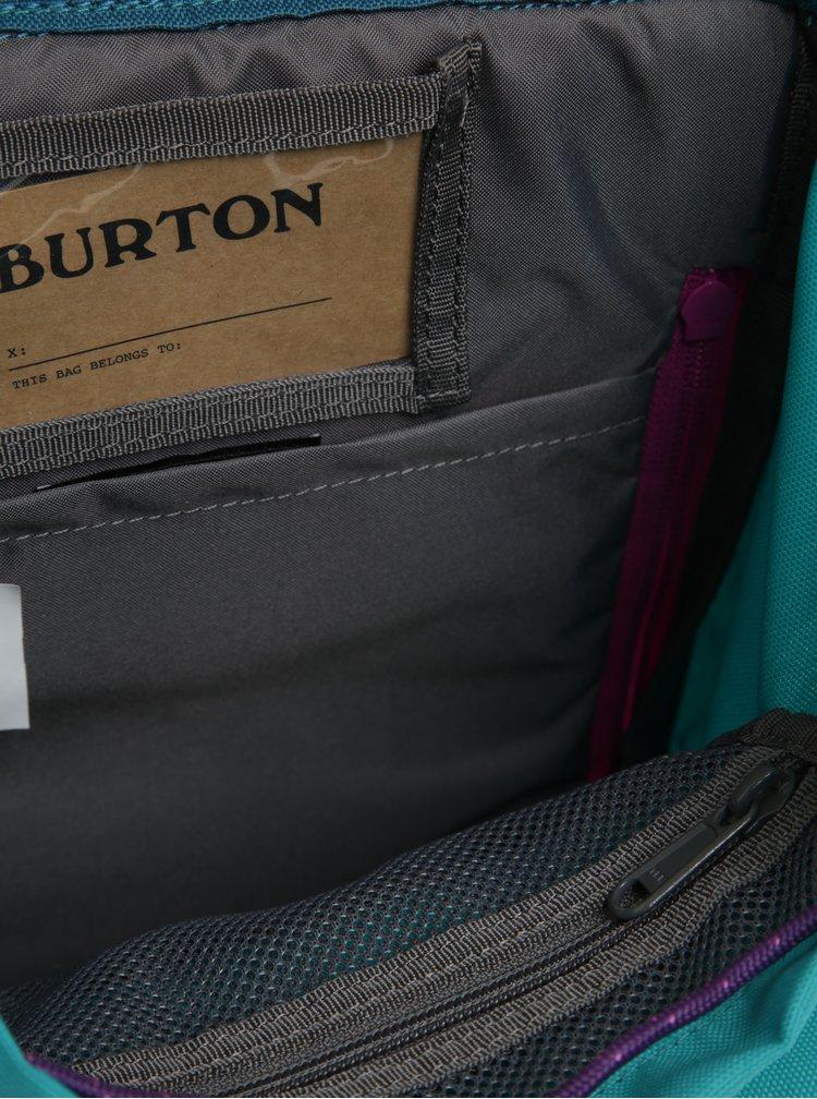 Tyrkysový dětský batoh Burton Tinder 16 l