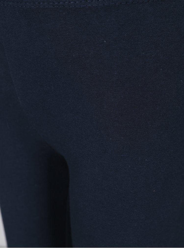 Tmavě modré holčičí legíny 5.10.15.