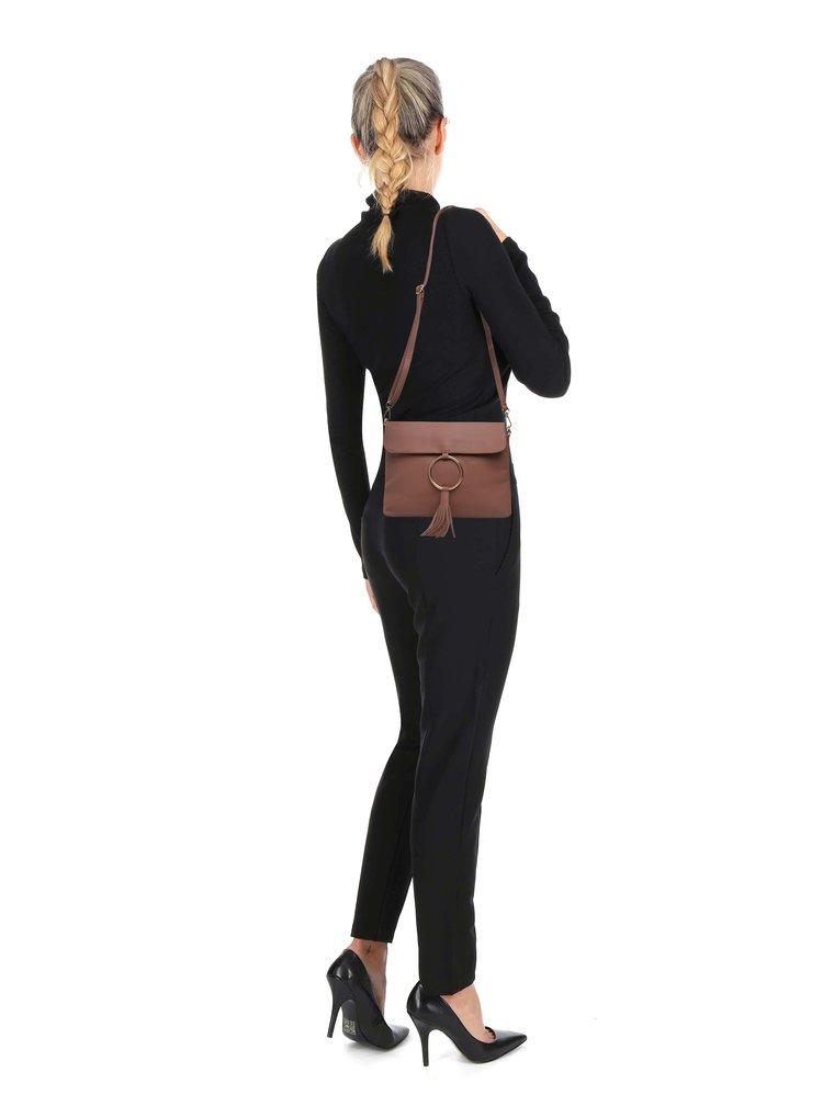 Hnědá crossbody kabelka Haily´s Lorena