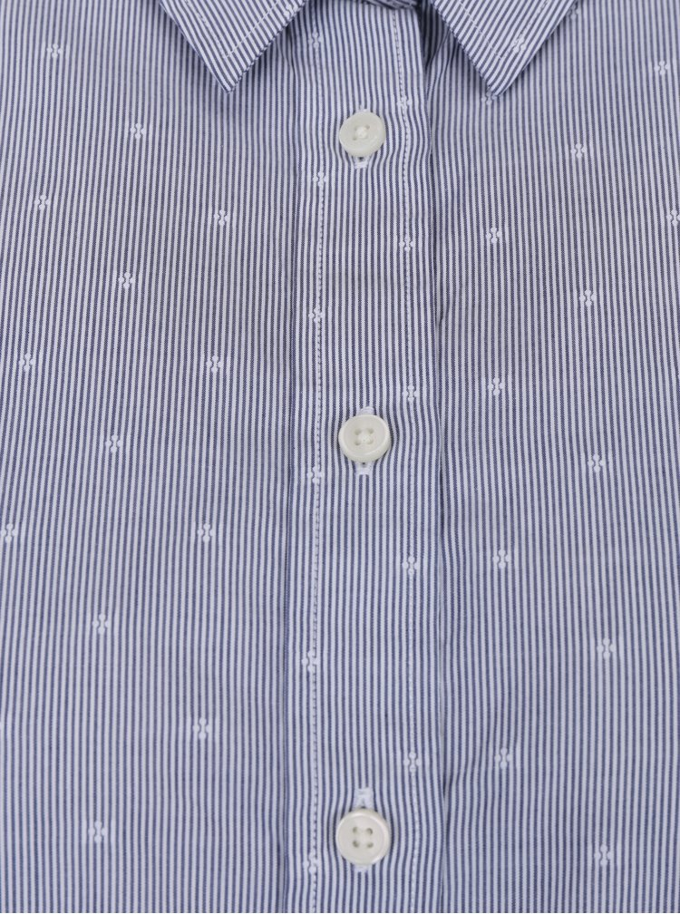 Tmavě modrá dámská pruhovaná košile GANT