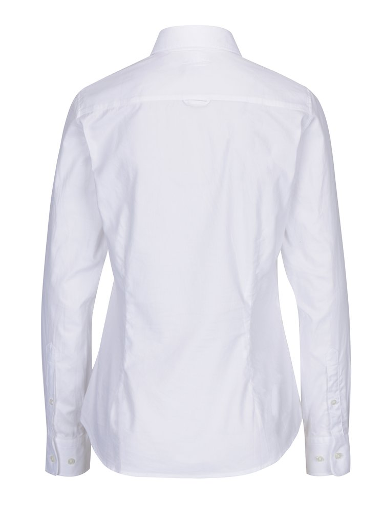 Bílá dámská slim košile GANT