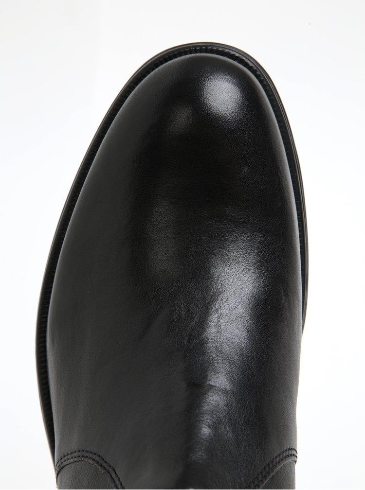 Černé pánské kožené chelsea boty Geox Blaxe B