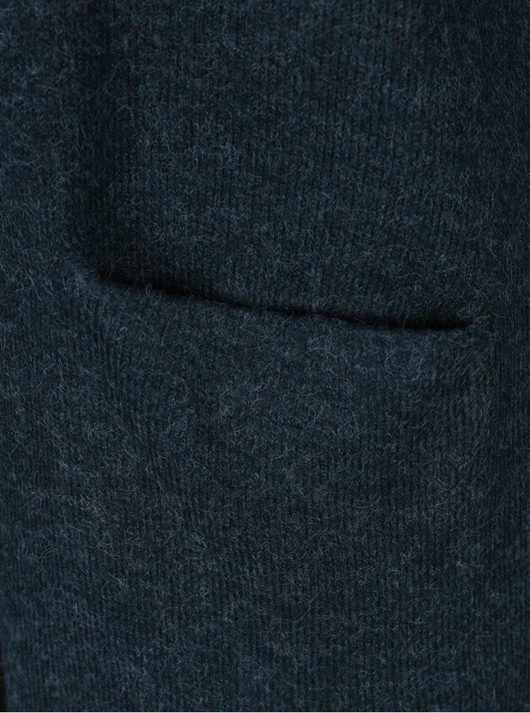 Cardigan verde inchis cu buzunare - VERO MODA Brilliant