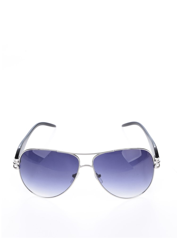 Ochelari de soare aviator albastri Haily's Ibiza