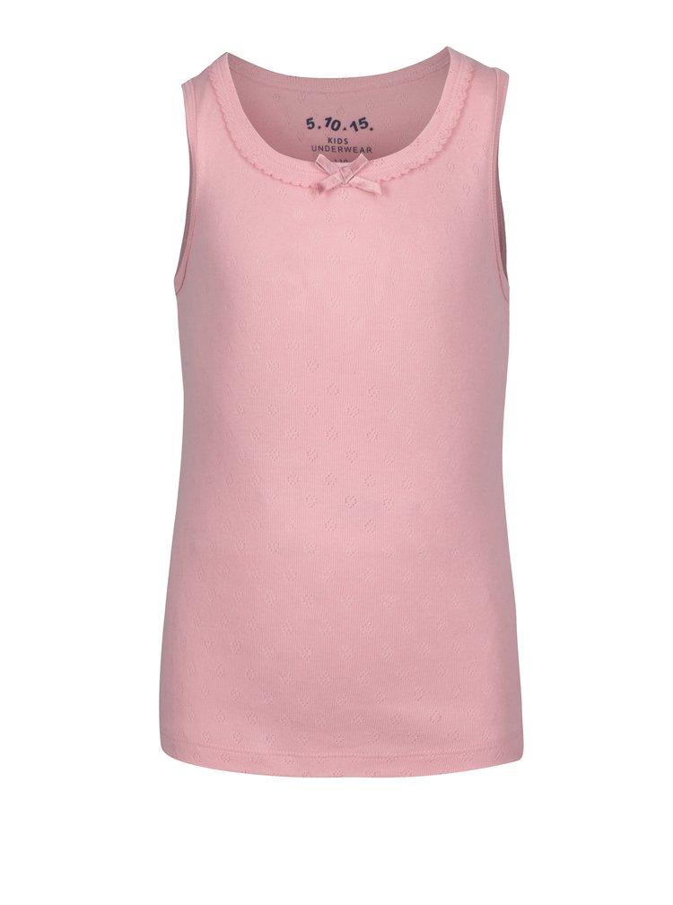 Růžová sada dvou holčičích košilek 5.10.15.