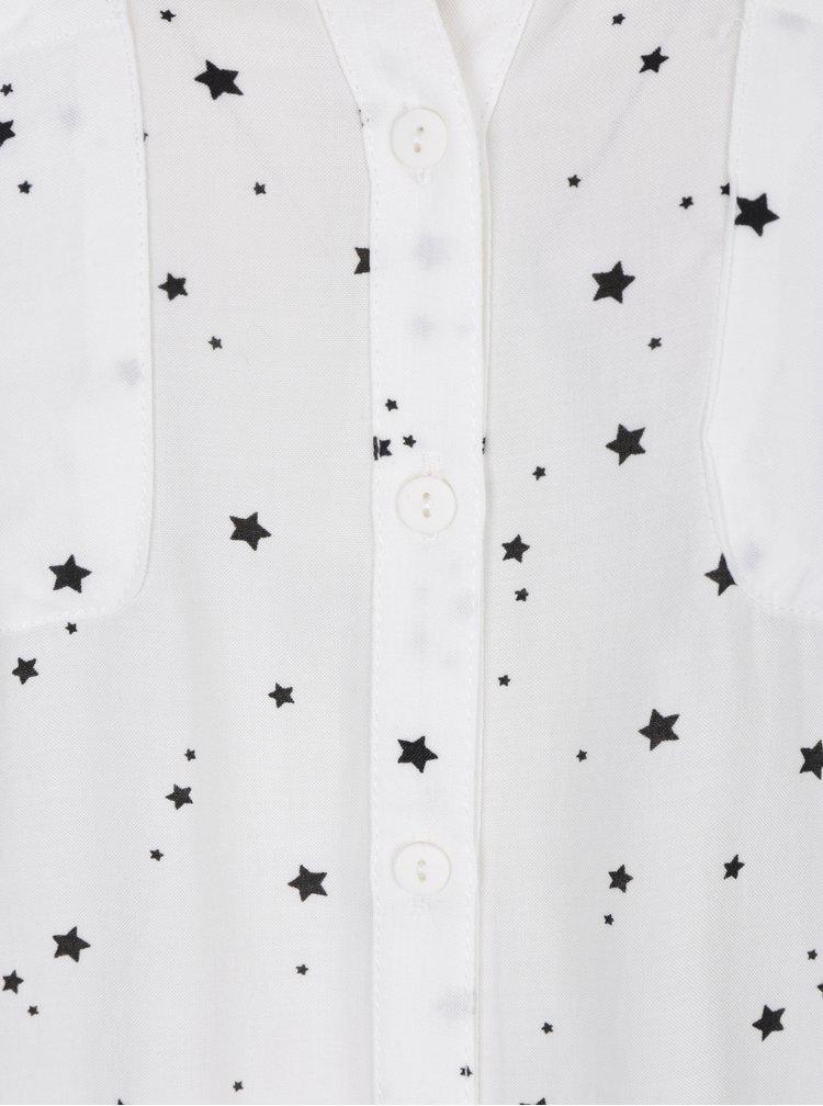 Krémová halenka s motivem hvězd ONLY First