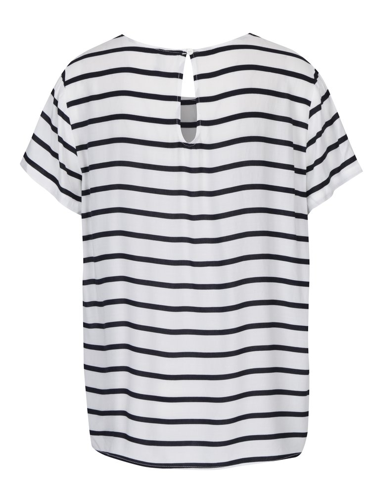 Bluza cu dungi negre & crem  - ONLY First