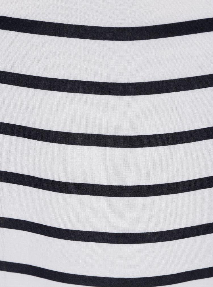 Čierno-krémová pruhovaná blúzka ONLY First