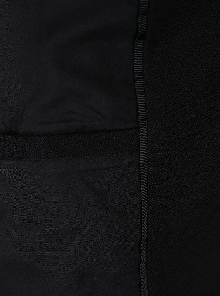 Černý lehký kabát VILA Misty