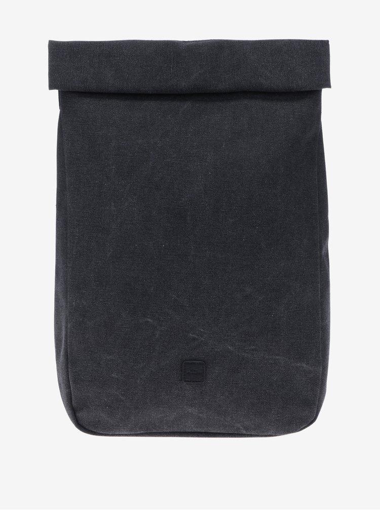 Rucsac impermeabil gri inchis cu terminatie rulata UCON ACROBATICS Alan 12 l